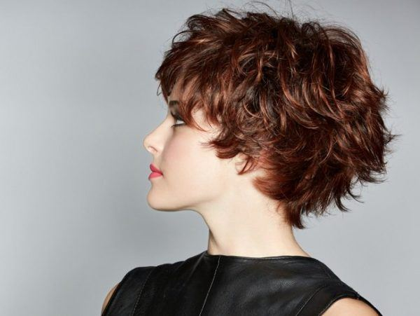 Cortes de pelo en corto en capas