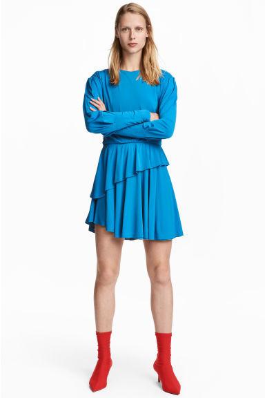 27cebad97 10 Ideas de Vestidos Azules cortos y largos de fiesta 2019 ...