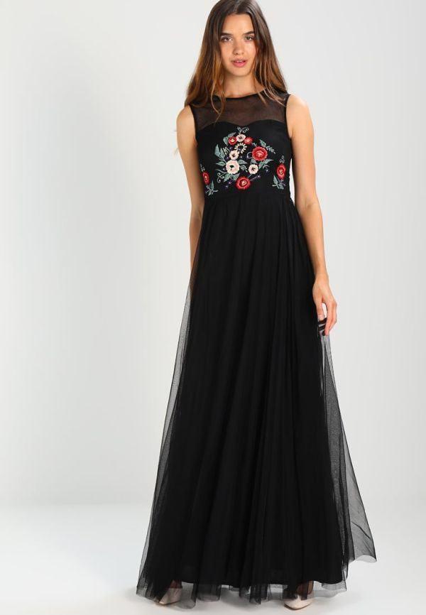 dcd6d110d 10 Ideas de Vestidos Negros cortos y largos de fiesta 2019 ...