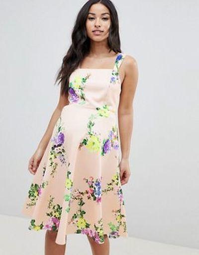 vestidos-de-fiesta-premama-para-embarazadas-estampado-flora-asos