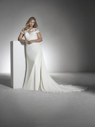 6a0cc2d2 ... luciendo vestidos que también podamos lucir y es por eso por lo que  hemos creado este artículo dedicado a los Vestidos de Novia para Gorditas  2019.