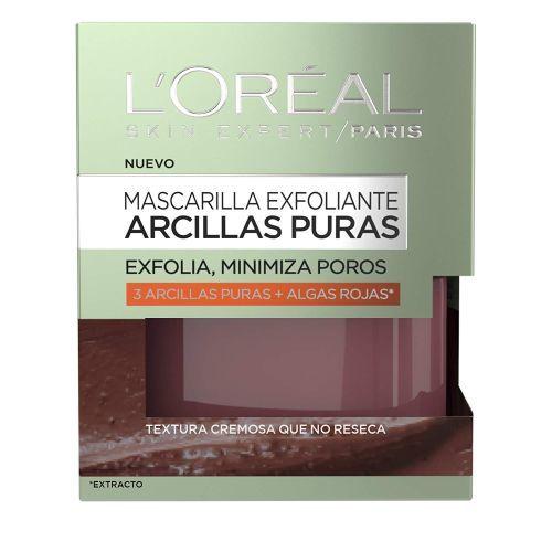 mejores-mascarillas-de-arcilla-loreal-exfoliante