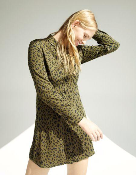 bershka-vestidos-camisero-estampado