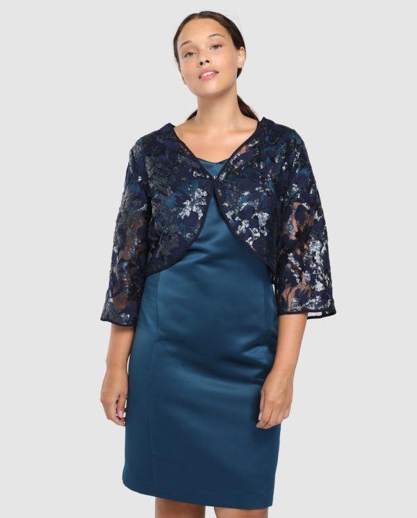 fb55a1c713b Antea Plus ha creado una combinación perfecta que te dará el toque  distintivo de otros vestidos de fiesta para bodas tallas grandes Primavera  Verano 2019.