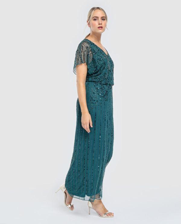 0e8bf4323b9 Vestidos de fiesta tallas grandes Primavera Verano 2019 ...