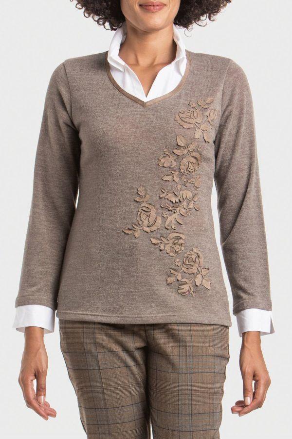 punto-roma-camiseta-simulada-detalle-floral