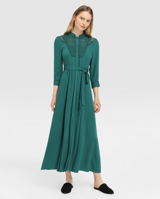 tintoretto-vestido-verde-guipur-y-cinturon