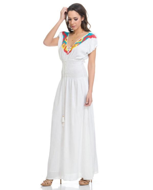 Vestidos de graduacion blanco 2019