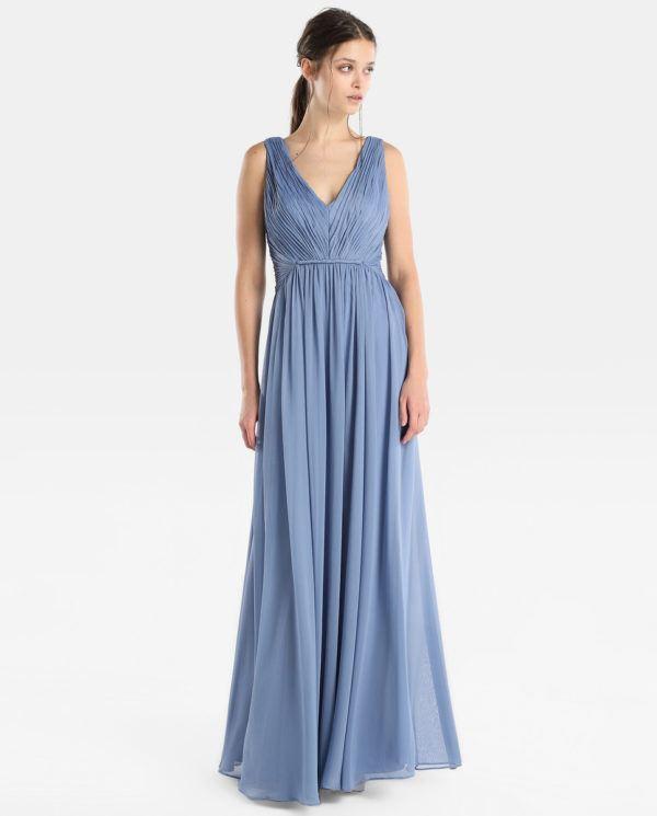 Vestidos de fiesta sencillos y elegantes 2019