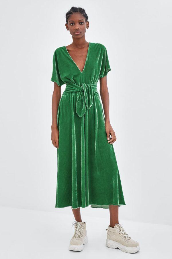 Vestidos de fiesta de terciopelo 2019