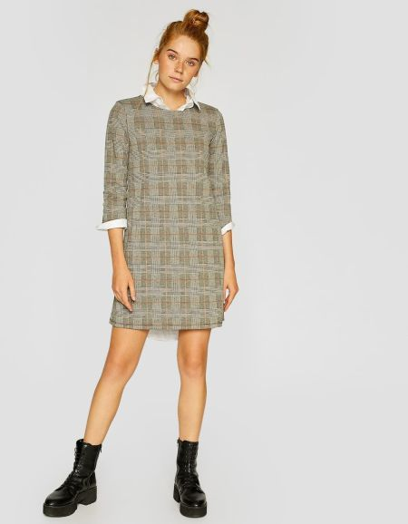 vestidos-stradivarius-corto-de-mangas-tres-cuarto