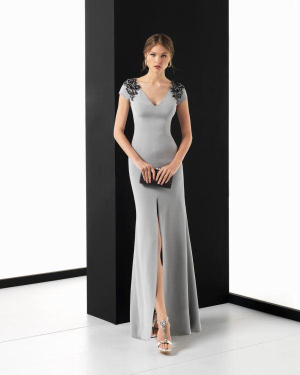 Vestidos largos con corte debajo del pecho