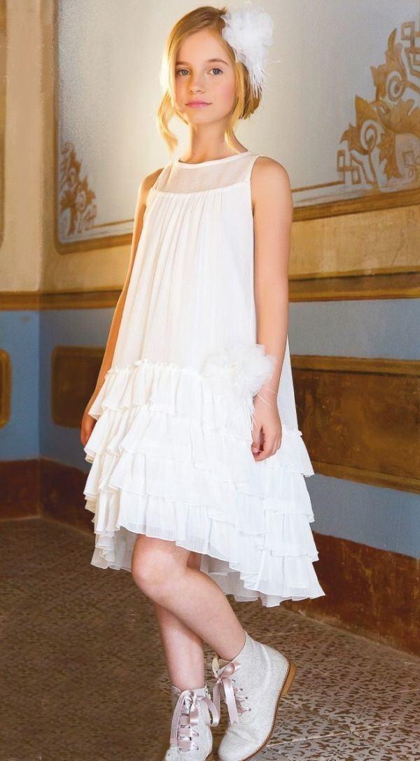 Vestidos De Comunión Para Niñas 2020 Sencillos Modernos Y