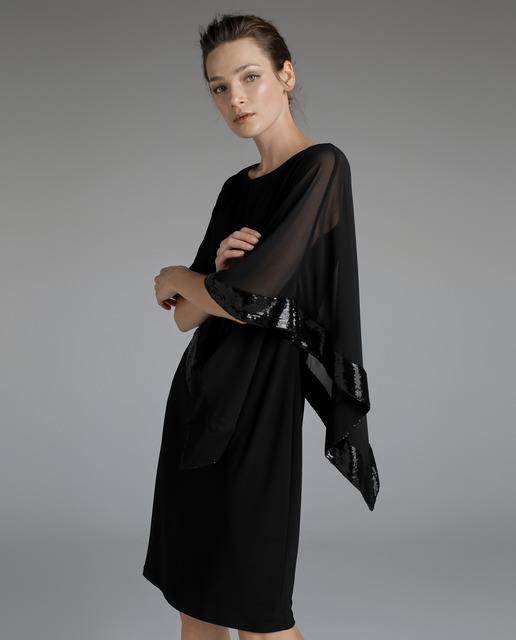 vestidos-negros-capelina-lentejuelas-woman-fiesta-elcorteingles
