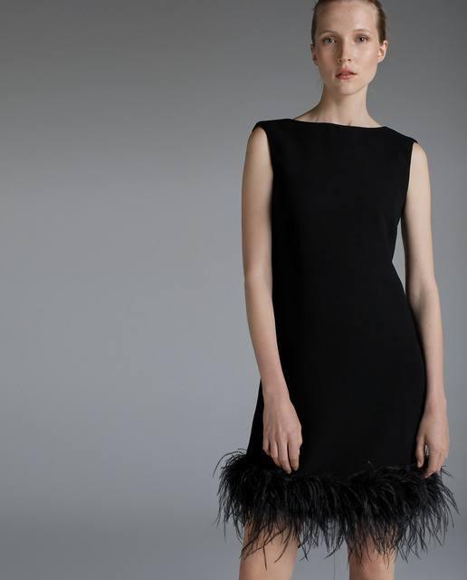 vestidos-negros-corto-sin-mangas-plumas-woman-fiesta-elcorteingles