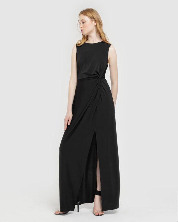 vestidos-negros-largo-greencoast-elcorteingles