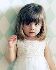 Cortes de pelo con flequillo para ninas