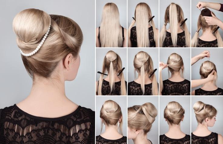 Peinados recogidos faciles para fiesta de noche