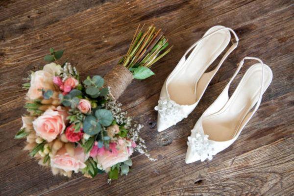 Segundo vestido novia elección zapatos