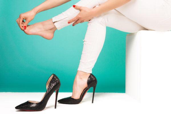 Cómo evitar que los tacones te hagan daño