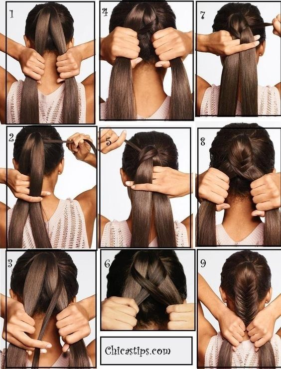 How to make braids for short hair