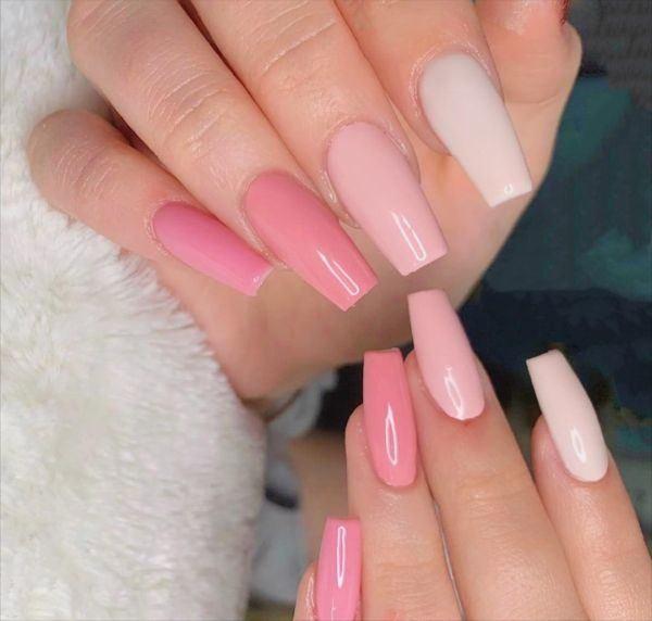 unas-decoradas-colores-rosa-instagram