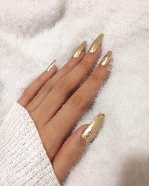 unas-decoradas-doradas-instagram