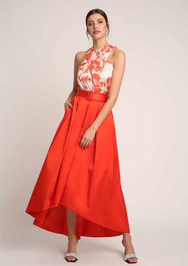 vestidos-de-comunion-para-madres-falda-naranja-albaconde