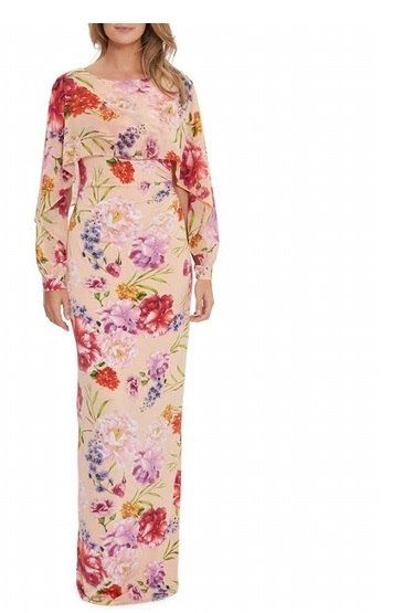vestidos-de-fiesta-el-corte-ingles-boda-largo-rosa-floral-gina-bacconi