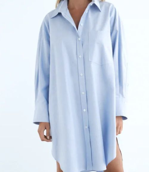 Camisa oversize Zara Otoño Invierno 2020 - 21