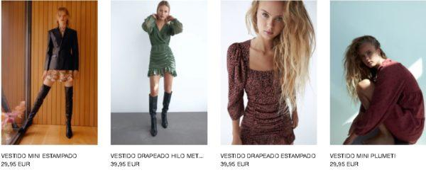 Vestidos Zara Otoño Invierno 2020 - 21
